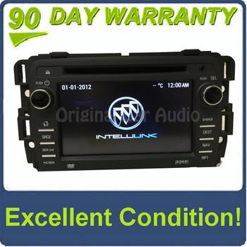 2013 - 2016 Buick Enclave Intellink RSE MyFi Navigation Radio AM FM SAT USB Touch Screen