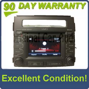 2012 - 2013 Kia Soul OEM UVO Infinity Bluetooth AM FM HD SAT Radio Receiver Gray