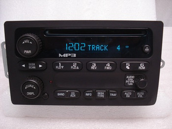 Chevrolet GMC Radio MP3 CD Player Stereo OEM Receiver