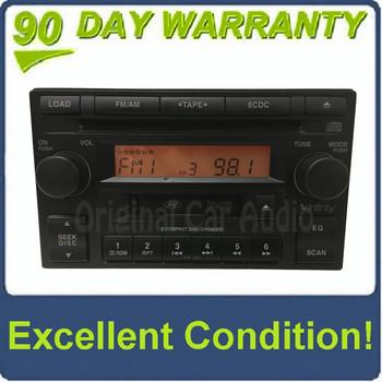 2005 - 2006 Hyundai Tiburon OEM Infinity 6 CD AM FM Cassette Radio Receiver