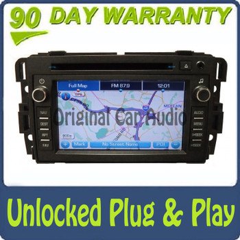 REMANUFACTURED Unlocked GMC Chevy Buick Pontiac Radio Navigation GPS CD Player