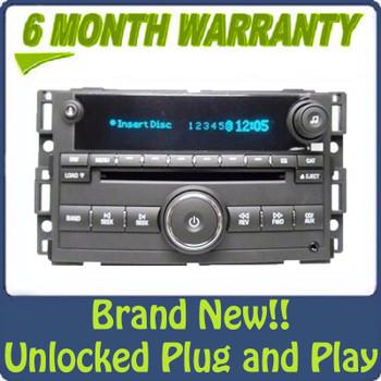 2007 - 2011 GM Chevy GMC Pontiac OEM Radio 6 Disc CD Changer Aux Stereo Receiver