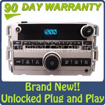 Unlocked New 2007 2008 Chevy Chevrolet OEM Equinox AM FM Radio AUX CD Player Stereo Receiver