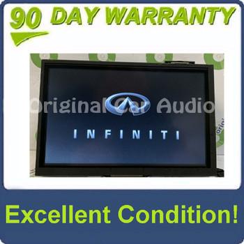 2014 - 2016  Infinti Q50 OEM Navigation Radio Touch Screen Information Display