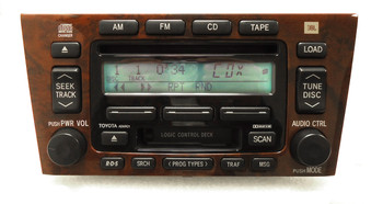 RE-MANUFACTURED 2000 2001 2002 2003 2004 TOYOTA Avalon JBL Radio Tape 6 Disc CD Changer AD6900