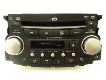 2006 - 2008 ACURA TL Radio Stereo 6 Disc Changer MP3 DVD CD Player Navigation
