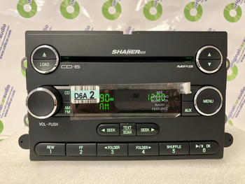 2007 2008 2009 Ford Factory Mustang OEM Shaker 500 SAT Radio 6 Disc Changer CD Player
