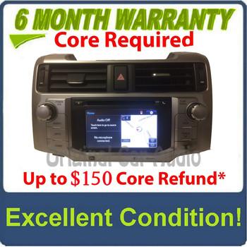 2014 - 2016 Toyota 4Runner OEM JBL Touch Screen Navigation Gracenote HD Radio Receiver