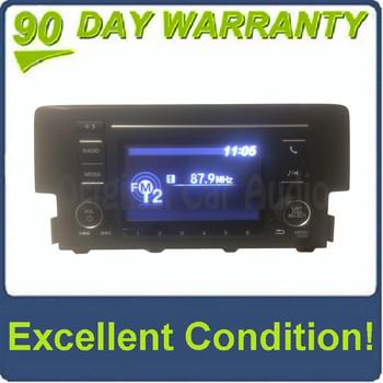 2016 - 2018 Honda Civic OEM AM FM Bluetooth Radio Media Receiver
