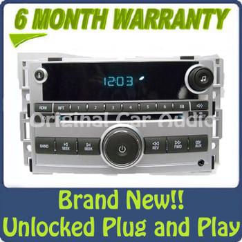 Chevy Chevrolet Malibu Radio AUX Receiver AM FM CD Player