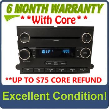 2011 - 2015 Ford F250 / F350 Super Duty OEM Premium 12 Volt Single CD AM FM Radio