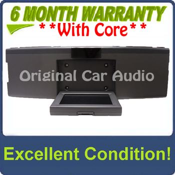 NEW 2007 - 2010 Ford Explorer Edge F150 OEM Overhead RSE Rear Seat DVD Player Display Assembly BLACK/BLACK