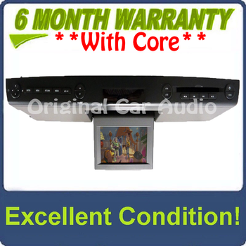 NEW 2007 - 2010 Ford Explorer Edge F150 OEM Overhead RSE Rear Seat DVD Player Display Assembly BLACK/GREY