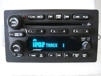 GMC Chevy Envoy BOSE Radio 6 CD Changer Receiver OEM