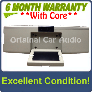 NEW 2007 - 2010 Lincoln Mark LT MKX Navigator OEM Overhead RSE Rear Seat DVD Player Display Assembly SILVER/BEIGE