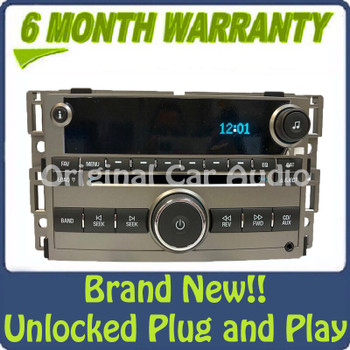 Chevrolet Chevy Malibu Radio AM FM MP3 6 CD Changer OEM