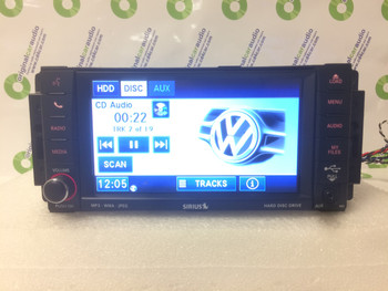 2012 2013 2014 VW Volkswagen Routan OEM MYGIG AM FM Radio Touch Screen MP3 SAT CD Player Receiver RBZ
