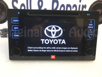 NEW 2015 2016 Toyota Prius OEM JBL Entune Navigation GPS HD Radio AM FM Media Receiver Gracenote