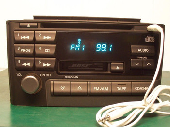 Maxima Satellite GPS Radio Tape Remote Control 6 CD Changer
