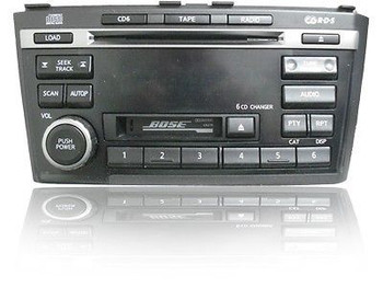 INFINITI I30 I35 Radio Tape Player 6CD Changer BOSE 2000 2001 2003 2004 BLACK