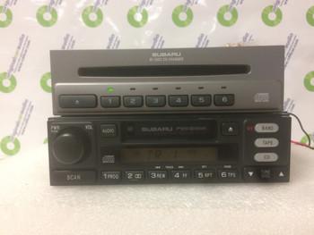 Subaru Satellite GPS Radio Tape Remote Control 6 CD Changer