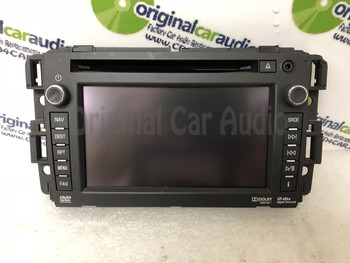 Chevrolet Avalanche Silverado GMC Sierra Navigation Face Screen BLEMISHED