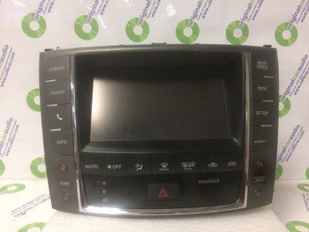 2012 - 2013 Lexus IS250 IS350 OEM Navigation Display Screen with Climate Controls