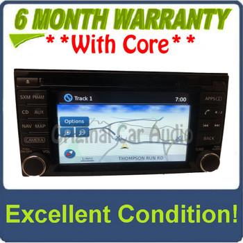 2014 - 2015 Nissan Juke OEM AM FM Radio Navigation CD Player Receiver