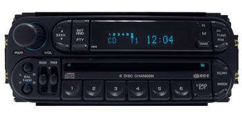 New Mechanism 2002 - 2007 Chrysler Jeep Dodge OEM AM FM Radio 6 CD Changer RBQ