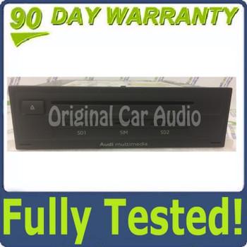 2015 2016 2017 Audi Q7 OEM Multimedia SIM SD CD Player Control Unit BLEMISHED