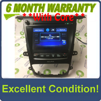 2015 - 2017 Acura TLX OEM Non Navigation Radio Display Screen Receiver w/o Controller