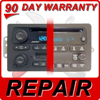 03 - 06 GMC Envoy Yukon Sierra Radio CD Player Repair