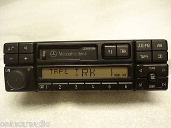 1994 - 1998 Mercedes C, CL, CLK, E, S Class Radio and Tape Player CM2396
