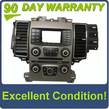 """2013 Ford Taurus OEM 4.2"""" Sync Radio Display Control Panel Faceplate BEZEL ONLY"""