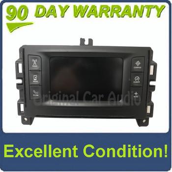 2015 - 2016 Jeep Cherokee OEM VP2 Touch Screen Multi Media Bluetooth Radio Receiver