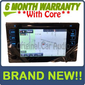 NEW 2016 16 Toyota Tacoma OEM AM FM Navigation Gracenote Non-JBL Radio Receiver