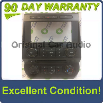 """2017 - 2018 Ford F250 F350 Super Duty 8"""" Radio Manual Climate Control Panel BEZEL ONLY"""