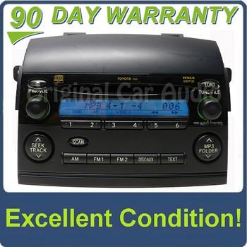 Toyota Sienna Radio Receiver MP3 6 Disc CD Changer OEM