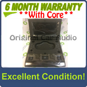 New 2018 - 2020 Chevy Cadillac GMC OEM 2nd row only Rear Entertainment Display Screen Black