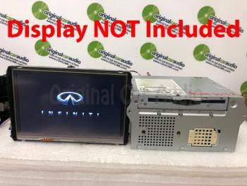 2011 - 2012 Infiniti OEM Bose Navigation radio 6 cd dvd player changer MP3