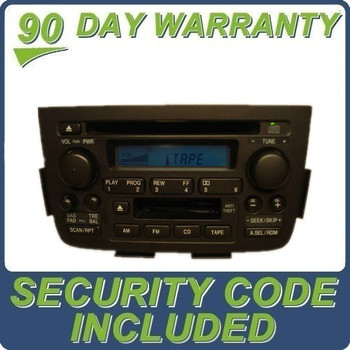 Acura MDX Radio Tape CD Player 2PF0 2001 2002 2003 2004