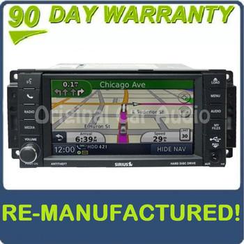 REMANUFACTURED 2007 - 2013 JEEP DODGE CHRYSLER MyGig RHB Navigation GPS Radio Stereo AM FM CD Player