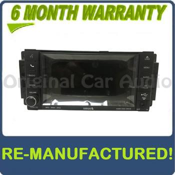 REMANUFACTURED 2007 - 2013 Chrysler Jeep Dodge OEM MyGig MP3 AUX CD DVD Player Receiver High-Speed RBZ
