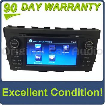 2014 - 2016 Nissan Altima OEM Navigation Nissan Connect MP3 CD Player MATTE BLACK