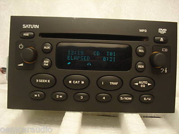 2004- 2005 Saturn Ion/Vue DVD CD MP3 Player