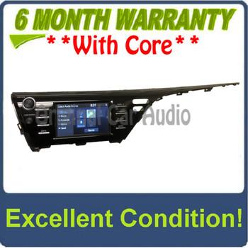 2018 - 2019 Toyota Camry OEM Gracenote Touchscreen AM FM  Radio Receiver