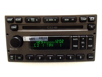 FORD Radio Stereo 6 Disc Changer CD Player Explorer Sport Trac YL2F-18C815-GD 1998 - 2010 OE