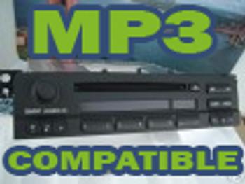 02 03 04 05 06 BMW E46 Radio Business MP3 CD Player 3 Series 325i 330xi 325ci M3 2002 2003 2004 2005 2006