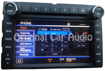 2011 - 2012 Ford Super Duty F250 F350 OEM Touch Screen Navigation HDD Radio Media Receiver