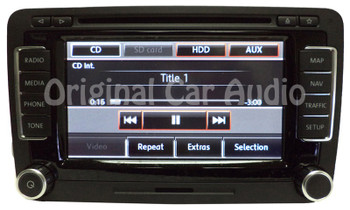 2010 - 2015  VW Volkswagen Jetta Passat GTI Navigation GPS touch screen radio OEM RNS-510 NEW FACE